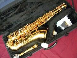 Buffet 400 Series Tenor Saxophone-professional-high F-lacquer-new-warranty