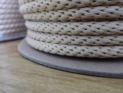 1/4 X 300 Ft.technora Solid Braid Rope. Uncoated. Flow Arts/utility. Made In Usa