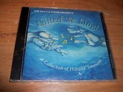 Nestle Choir Presents United We Sing Music Cd A Collection Of Holiday Treasures