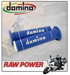 Yamaha Yz8017/14 Inch Wheels 1994 Domino Grips Offroad Blue - White 8301166
