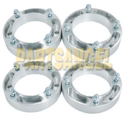 4 1.5and039and039 Atv Wheel Spacers 4x156 For Polaris Sportsman 400 500 600 700 800 Rzr