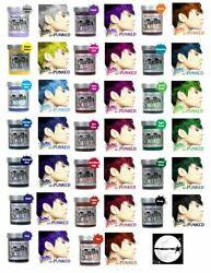 36 X Jerome Russell Punky Colour Semi-permanent Hair Color 20 Colors Available