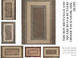 Tiburon Braided Rugs And Runners By Colonial Mills. All Sizes And Colors