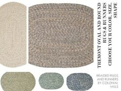 Tremont Braided Area Rugs And Runners By Colonial Mills. All Sizes And Colors