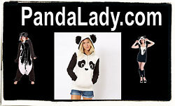 Panda Lady .com  Be Somebody Domain Name Vanity Brandable Costumes Jackets URL