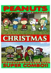 Peanuts Lucy Super Combo Christmas Yard Lawn Art Decorations