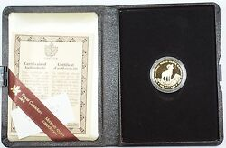 1985 Canada National Parks 100 Dollar 1/2 Oz Gold Proof Coin As Issued Ww