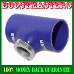For Rs Style Turbo Bov Blue 3 Reinforce Silicone Adapter Pipe