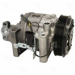 Four Seasons New York-Diesel Kiki-Zexel-Seltec DKV14G Compressor w Clutch 98445