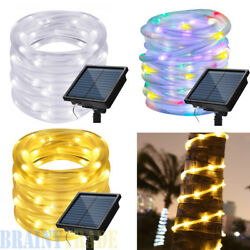 42ft 100 Led Waterproof Outdoor Led Rope Lights Xmas Wedding Party Garden Decor