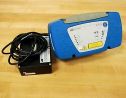Accu-sort Axiom Barcode Scanner W/ Ps-4024 Dc Power Supply. - Used