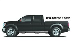 N-fab W2w Textured Black Nerf Bars Fits 1999-16 Ford F250 F350 Crew Cab 6and0399 Bed