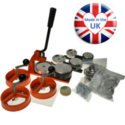 Ebadges And039microand039 Multi Badge Maker - 750 Components Circle Cutters And 3 Dies