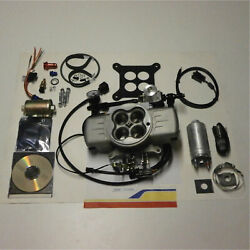 Professional Products 70026 Fuel Injection Sys Powerjection Iii Kit, 750cfm. Gas