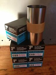 Stainless Steel Shim Stock 6 X 50 Inch .003 Lot Of 5 Boxes