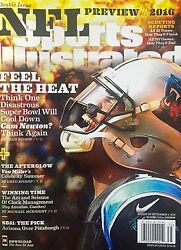 Cam Newton August 29th 2016 No Label Sports Illustrated Si Magazine