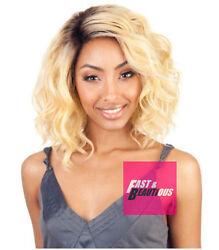 Bs206 - Isismane Concept Brown Sugar Human Hair Style Mix Soft Lace Front Wig
