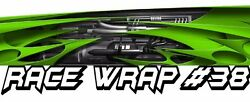 Race Car Graphics 38 Half Wrap Vinyl Decal Imca Late Model Dirt Trailer Truck