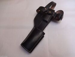 Wwi German Mauser C96 Broomhandle Holster Rig For Stock Black Reproduction