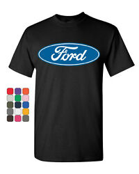 Licensed Ford Logo T-Shirt Truck Mustang F150 Muscle Car Tee Shirt $9.56