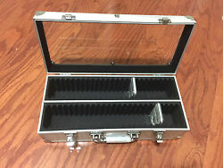 Aluminum Storage And Display Box Case Holds 50 Pcgs Ngc Anacs Coin Holders Slabs