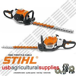 Stihl 4228 180 1101 Throttle Cable For Hs45 Hedge Trimmers Next Day
