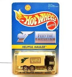 Hot Wheels Feed The Children Helpful Hauler Limited Edition 14989