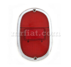 Volkswagen Bus 1962-71 Red Silver Reflector Tail Light Lens New