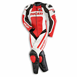 Ducati Dainese Corse Leather Suit One Piece Combo Leather Suit New