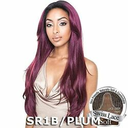 Bs216 - Isismane Concept Brown Sugar Human Hair Style Mix Soft Lace Front Wig