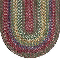 Josephand039s Coat Braided Area Rugs Colonial Rug-- Many Sizes 710jc. Colonial Rug