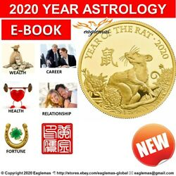 2020 Rat Year Zodiac Fortune Chinese Astrology Feng Shui Luck Almanac Fate