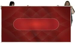 Table Sublimation Poker Felt For Casino High Quality Material Red Tables New