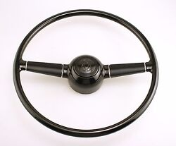 1940 Ford Replica Steering Wheel V8 Horn Button W/ Built In Adapter Hot Rod