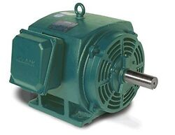 75hp 1780RPM 365T Frame 208-230/460 Volts Open Drip Leeson Electric Motor 170029