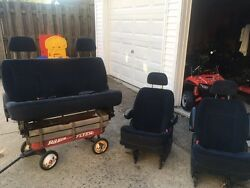 Chrysler-dodge Seats, Two Bucket Seats 1 Person, One Bench Seat 3 Person