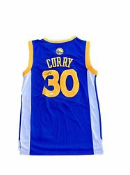 Stephen Curry Golden State Warriors Home Blue Signed Jersey Jsa Y89870
