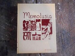 Vintage 1971 Andalusia Alabama Memolusia Yearbook Book Great Cond