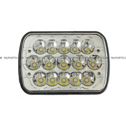 5 X 7 15 Led Sealed High/low Beam Headlight Fit Universal And Various Other Truck