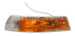 For Porsche 911 912 1965-68 Front Left Complete Amber/clear Light New