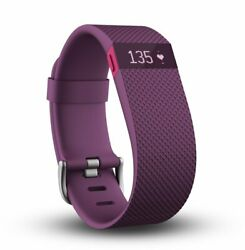 Fitbit Charge HR Heart Rate + Activity Wristband Large Plum