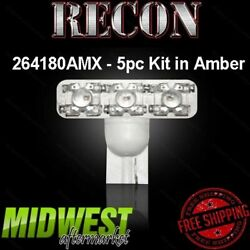 Recon High Power Amber Replacement Cab Light Bulbs Fits 2008-2014 Ford F250 F350