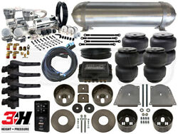 Complete Air Ride Suspension Kit 1964 - 1972 Chevelle Level 4 W/ Air Lift 3h