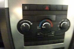 HEATER AC CLIMATE CONTROLS 2010 JEEP GRAND CHEROKEE