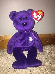 Ty Beanie Baby Princess Diana 1997 Extremely Rare In Excellent Condition