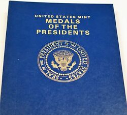 United States Mint Medals Of The Presidents Complete Through Ronald Reagan