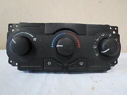 05-07 Jeep Grand Cherokee AC Heater Temperature Climate Control OEM P055111009AD