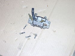 Scott Mcculloch Outboard Motor Fuel Pump And Intake Manifold 7.5hp 1960