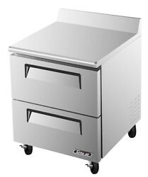 Turbo Air 28 Commercial 7 Cu.ft Worktop Cooler Twr-28sd-d2