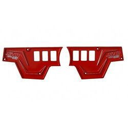 Engine And Light Switch Red Dash Plate Fits Polaris Rzr Xp 1000 Model Utv Off Road